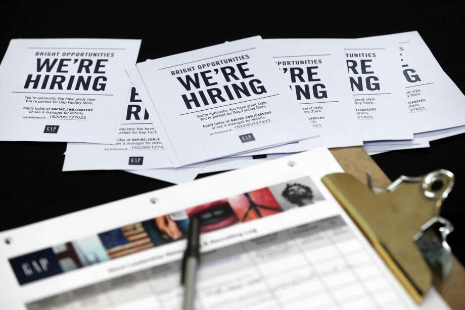 The Labor Department says weekly applications for unemployment aid dropped 3,000 to a seasonally adjusted 258,000. The four-week average, a less volatile measure, rose to 254,250. Photo: Associated Press /File Photo / Copyright 2016 The Associated Press. All rights reserved. This material may not be published, broadcast, rewritten or redistribu