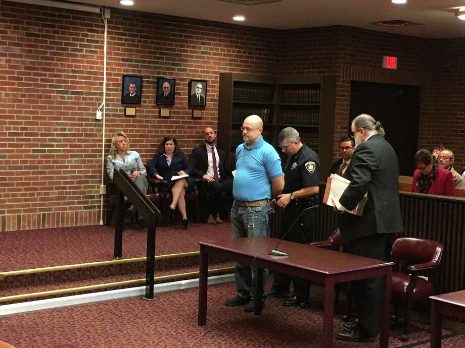 Harold L. Wolcott was taken Saratoga County jail on Thursday after Judge James Murphy III sentenced him to thirty days.