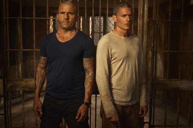 PRISON BREAK  Fox's action thriller is back after an eight-year hiatus. When clues begin materializing suggesting that MIchael might be alive, Lincoln and Sara must team up to orchestrate the biggest prison break ever. The limited series debuts on Tuesday, April 4th on Fox.  (Fox)