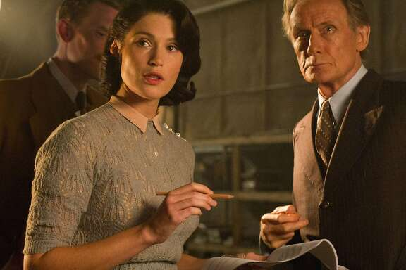 """Gemma Arterton and Bill Nighy star in the World War II romantic comedy """"Their Finest,"""" directed by Lone ScherfigCredit:Photo by Nicole Dove. Courtesy of STX Extertainment."""