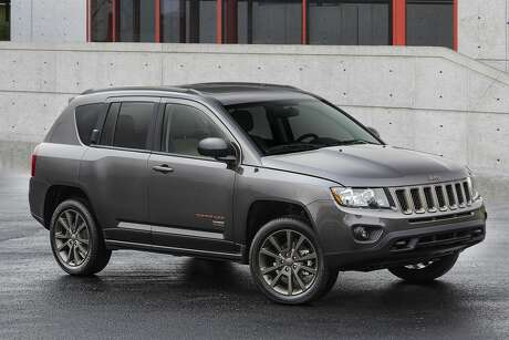 You might be able to get a deal on the 2017 Jeep Compass 75th Anniversary as this version is essentially a carry-over from 2016. Photo: FCA US LLC