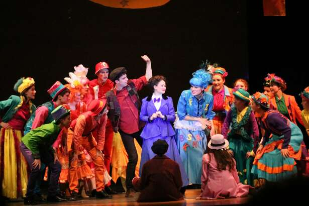 "Voorheesville High School's production of ""Mary Poppins"""