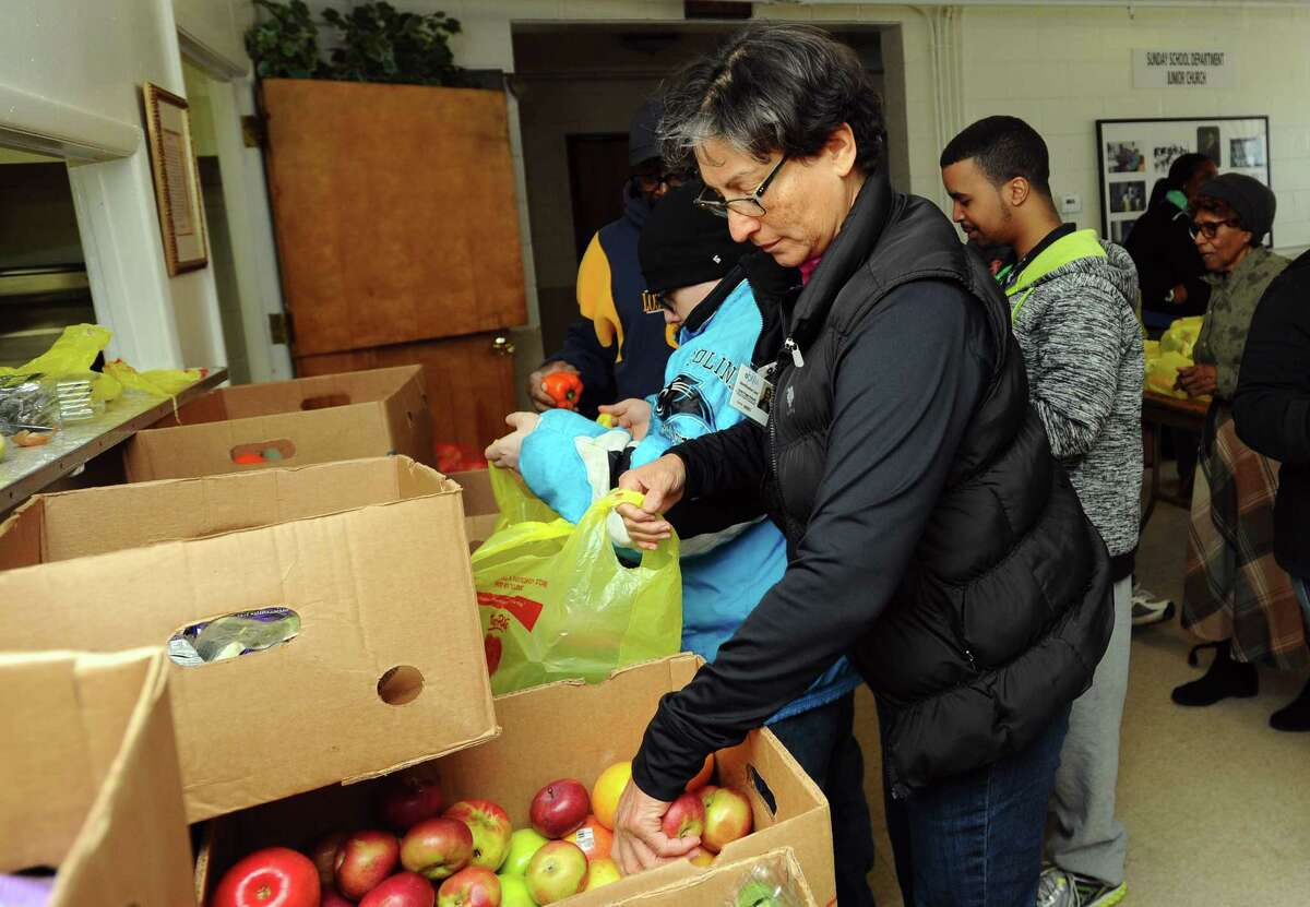 New Haven County, Connecticut County food insecurity rate: 12.9%   State food insecurity rate: 12.2% County poverty rate: 13.0%   Households in rural areas: 3.3%Source: 24/7 Wall St.