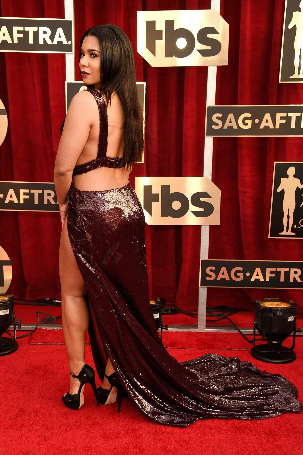 Jessica Pimentel attends The 23rd Annual Screen Actors Guild Awards on January 29, 2017.