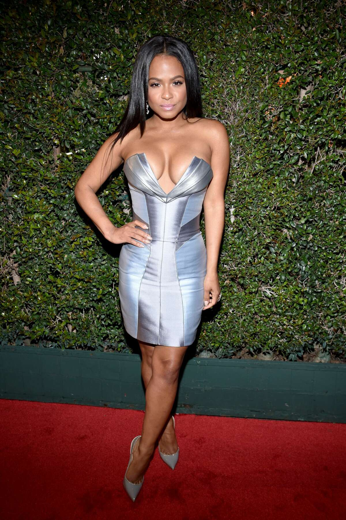 Christina Milian attends the 2017 iHeartRadio Music Awards on March 5, 2017 in Inglewood, California.