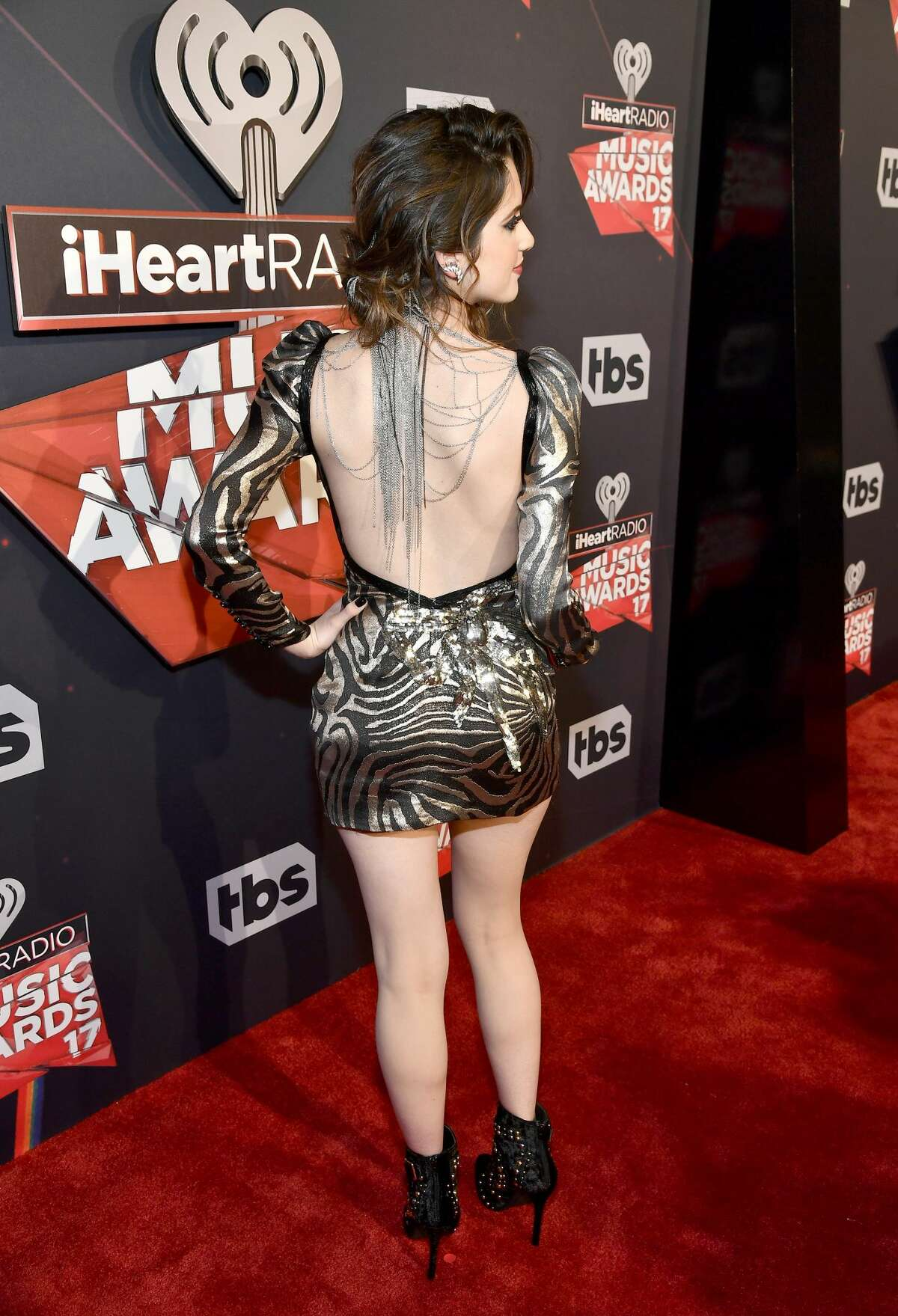 Laura Marano attends the 2017 iHeartRadio Music Awards on March 5, 2017 in Inglewood, California. Keep clicking to see these red carpet looks that would for sure get you kicked out of the prom.