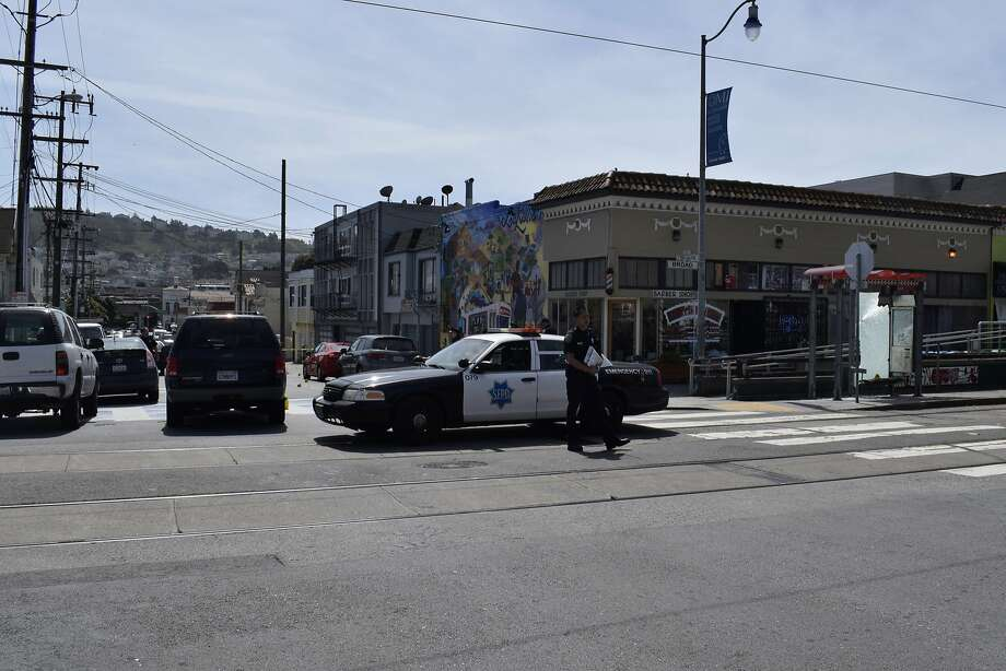 Lian Xiu Wu, 65, was fatally shot at the intersection of Plymouth Avenue and Broad Street on Wednesday. Photo: Filipa Ioannou, Filipa Ioannou / San Francisco Chronicle