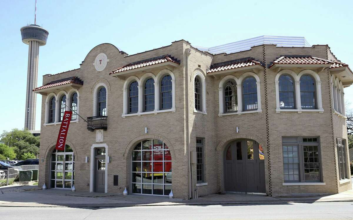 Batalion restaurant opened last year in a former fire station on South Alamos Street.