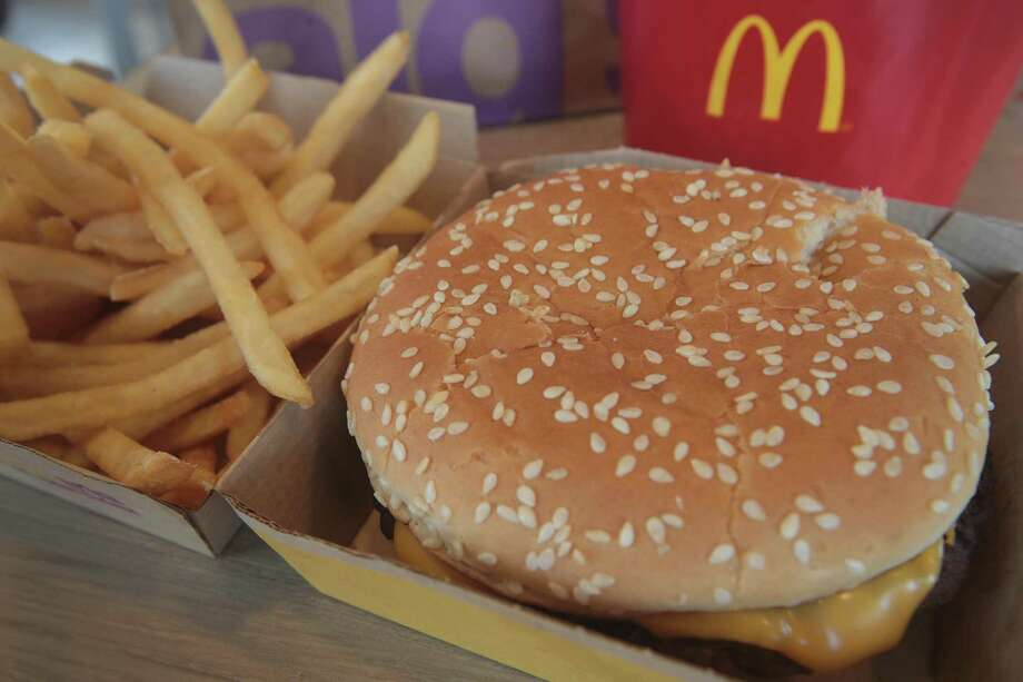 McDonald's announced it will start making the Quarter Pounder with fresh beef patties instead of the frozen beef that it currently uses. Photo: Scott Olson /Getty Images / 2017 Getty Images
