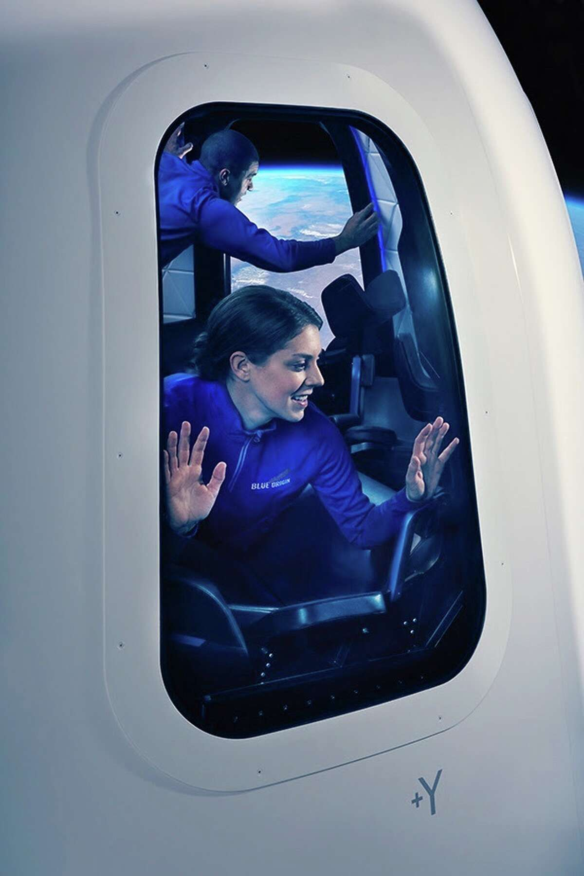 Blue Origin, Amazon CEO Jeff Bezos' rocket company that plans to take tourists into space, released images of its capsule, complete with giant windows and plenty of room for its passengers.