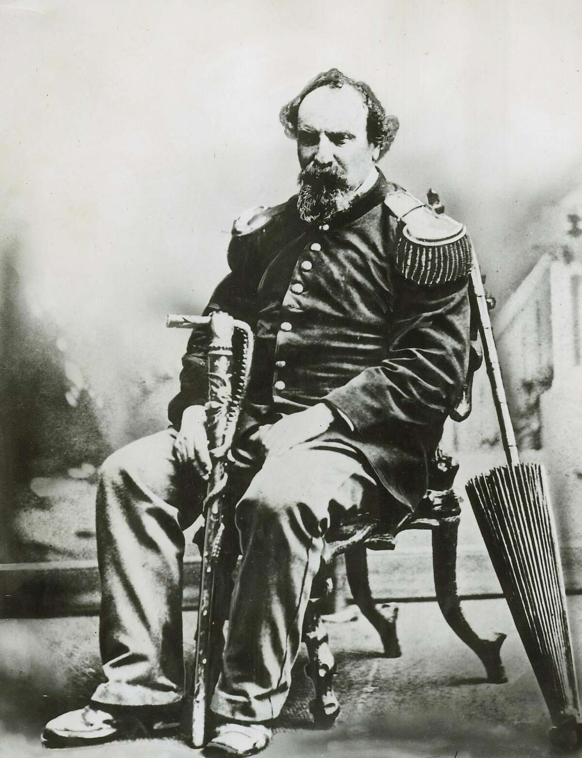 norton_1.JPG Emperor Norton- Emperor of the United States and Protector of Mexico. /staff photographer