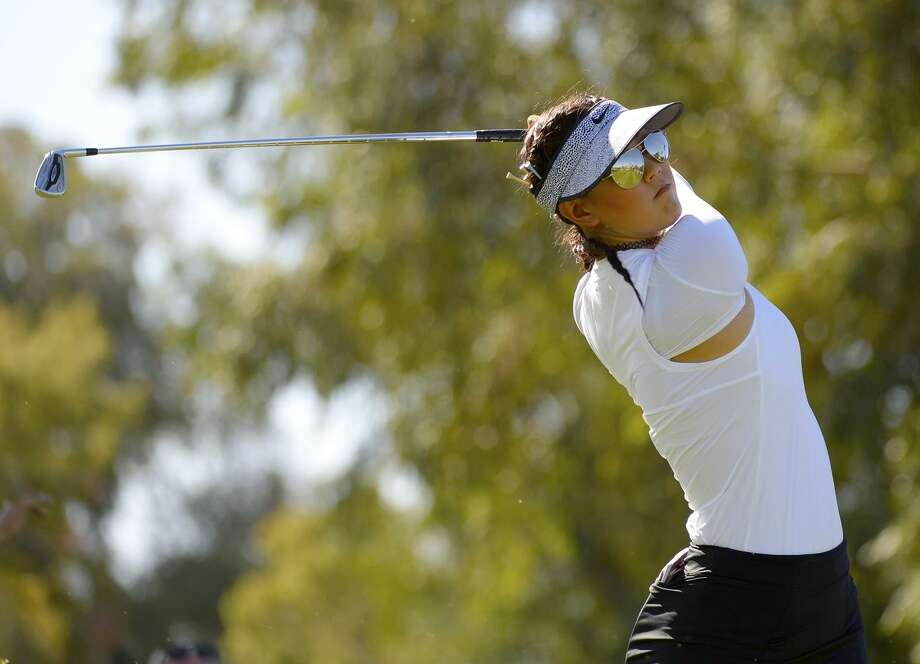 Michelle Wie is just one off the pace after playing a round with Redwood Shores' Lucy Li. Photo: Robert Laberge / Getty Images / 2017 Getty Images