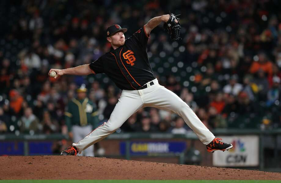 Mark Melancon will get the ninth inning in his return from forearm surgery. Photo: Michael Macor, The Chronicle
