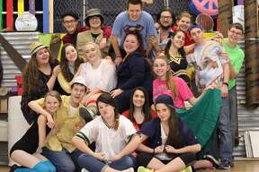 """Godspell"" at Warrensburg Jr./Sr. High School"