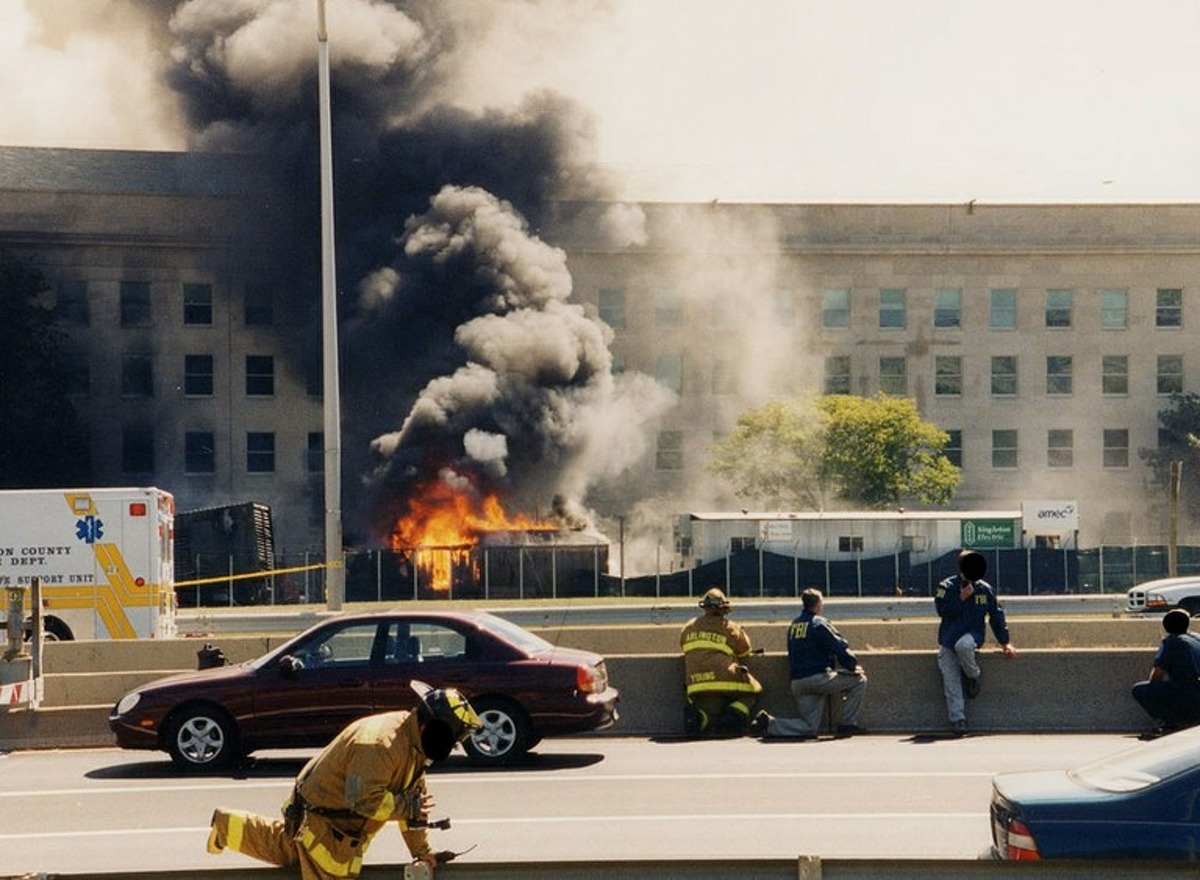 In March 2017, the FBI re-released several rarely seen photos of the 9/11 attacks against the Pentagon in Arlington County, Virginia. The photos were first released to the public in 2011, but disappeared from the public record due to a technical glitch.