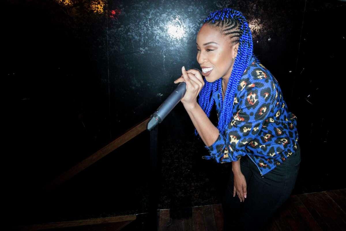Houston hip-hop artist Genesis Blu.