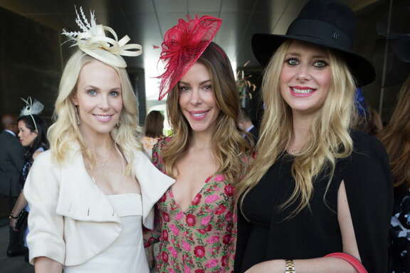 Guests at the Hats in the Park luncheon in Hermann Park Thursday March 30, 2017 in Houston, TX.