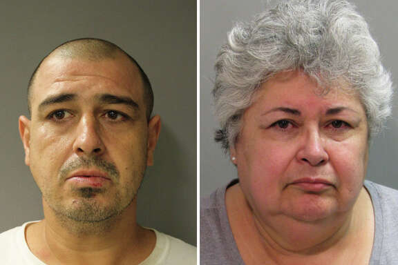 Jesus Garza is charged with aggravated assault in Tom Green County and retaliation in Harris County. Mary Garza is charged with hindering apprehension in Harris County.    SLIDESHOW: Fugitives sought by Houston-area police