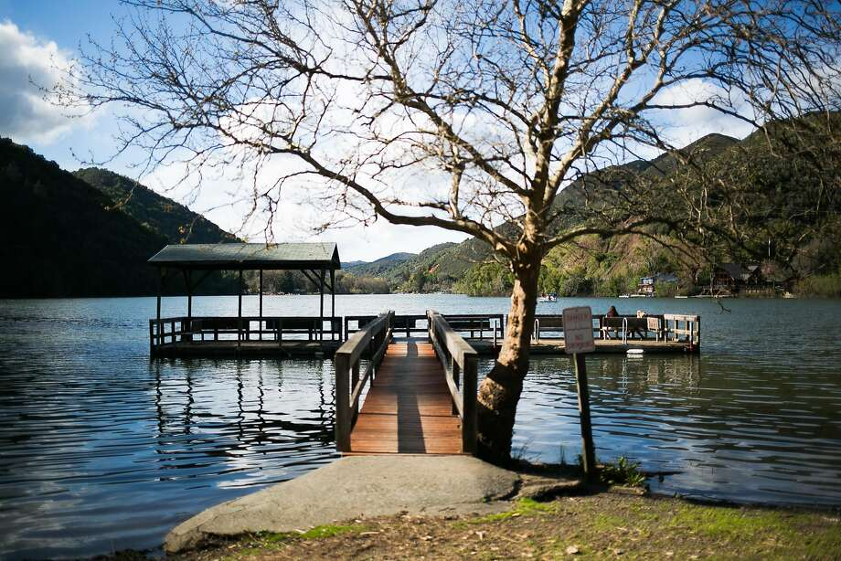 The Pine Acres Resort offers visitors a spot on Blue Lake in Upper Lake, a great alternative to Clearlake for lodging and swimming. Photo: Mason Trinca, Special To The Chronicle