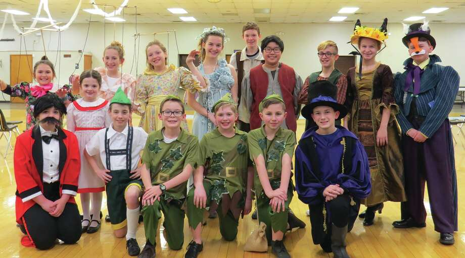 """The cast of """"Pinocchio,"""" which will be performed Sunday at the Wildey Theatre. Photo: Carol Arnett • Intelligencer"""