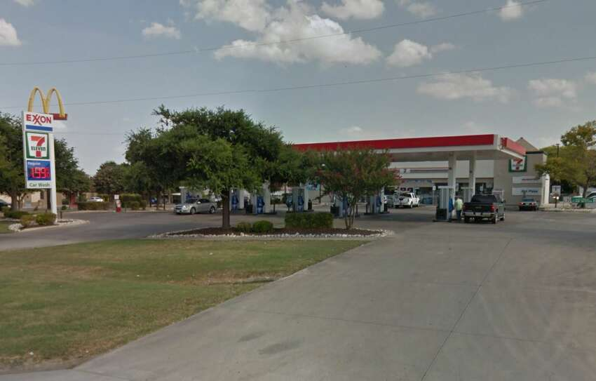 7-Eleven: 5242 Rigsby Ave., San Antonio, Texas 78222Date: 03/27/2017 Score: 74Highlights: Foods in refrigeration and on shelves were held one to two months past the expiration dates, mold seen inside the main ice machine, mixed fruit did not read the correct temperature,