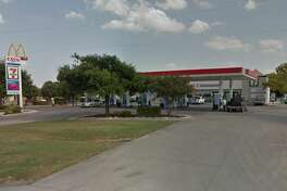 """7-Eleven: 5242 Rigsby Ave., San Antonio, Texas 78222 Date: 03/27/2017 Score: 74 Highlights: Foods in refrigeration and on shelves were held one to two months past the expiration dates, mold seen inside the main ice machine, mixed fruit did not read the correct temperature, """"distressed"""" and """"damaged"""" foods seen in refrigeration and on shelves, hand washing sink in back room was being used for storage."""