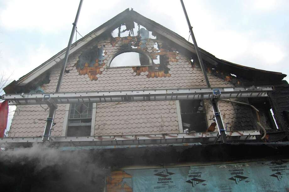 Fire Marshal photos - investigation scene photos following the fatal fire at 2267 Shippan Ave. in Stamford, Conn. on Christmas morning Dec. 25, 2011. The home of Madonna Badger. Photo: Stamford Fire Department / Contributed Photo / Stamford Advocate Contributed
