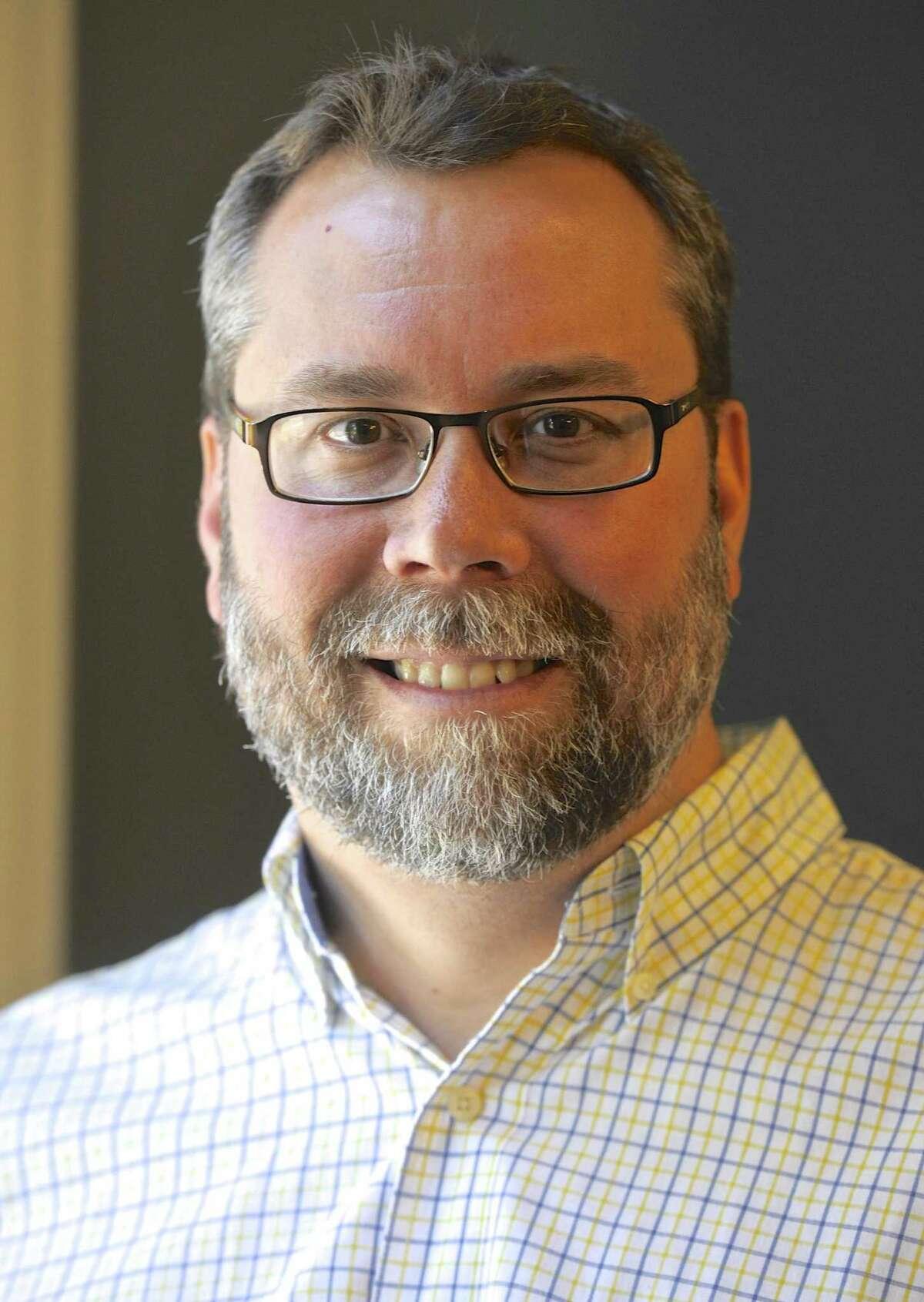 New Milford Mayor David Gronbach.