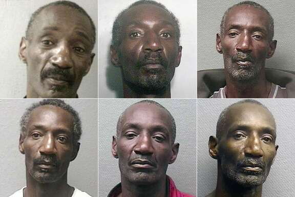 This composite images shows several of the mugshots of convicted rapists Keith Edward Hendricks. Keep going to see a timeline of his criminal record and what landed him behind bars.
