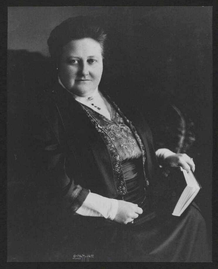 Poet Amy Lowell inspired Sankovitch to write a book on her family. Photo: Houghton Library, Harvard University / Contributed Photo / Connecticut Post Contributed