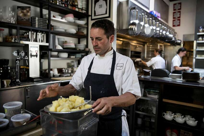 Executive chef Matthew Accarrino of SPQR: