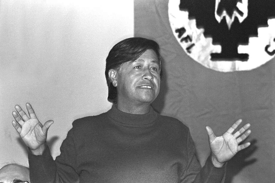 United Farm Workers co-founder Cesar Chavez in 1976. Photo: Barbara Freeman