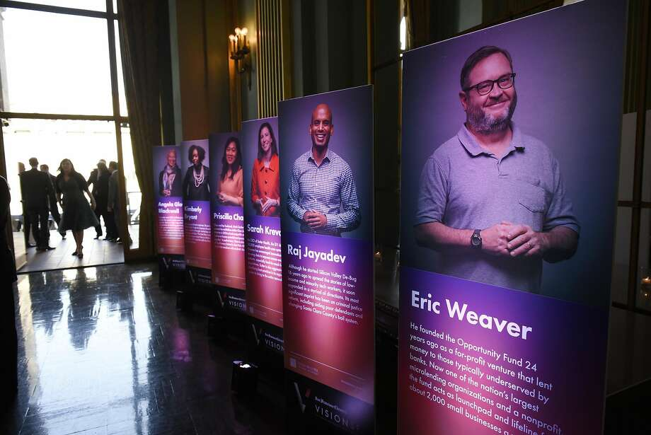 2017 Visionary of the Year Award ceremony held at the War Memorial Opera House in San Francisco, CA, on Thursday March 30, 2017. Photo: Michael Short, Special To The Chronicle