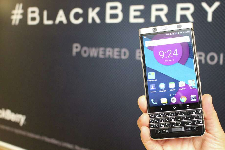 BlackBerry stock rose the most in more than two years after it was awarded $814.9 million to end a dispute with Qualcomm Inc. over royalty payments, giving it cash needed to help recast itself as a software maker. Photo: Glenn Chapman /AFP /Getty Images / AFP or licensors