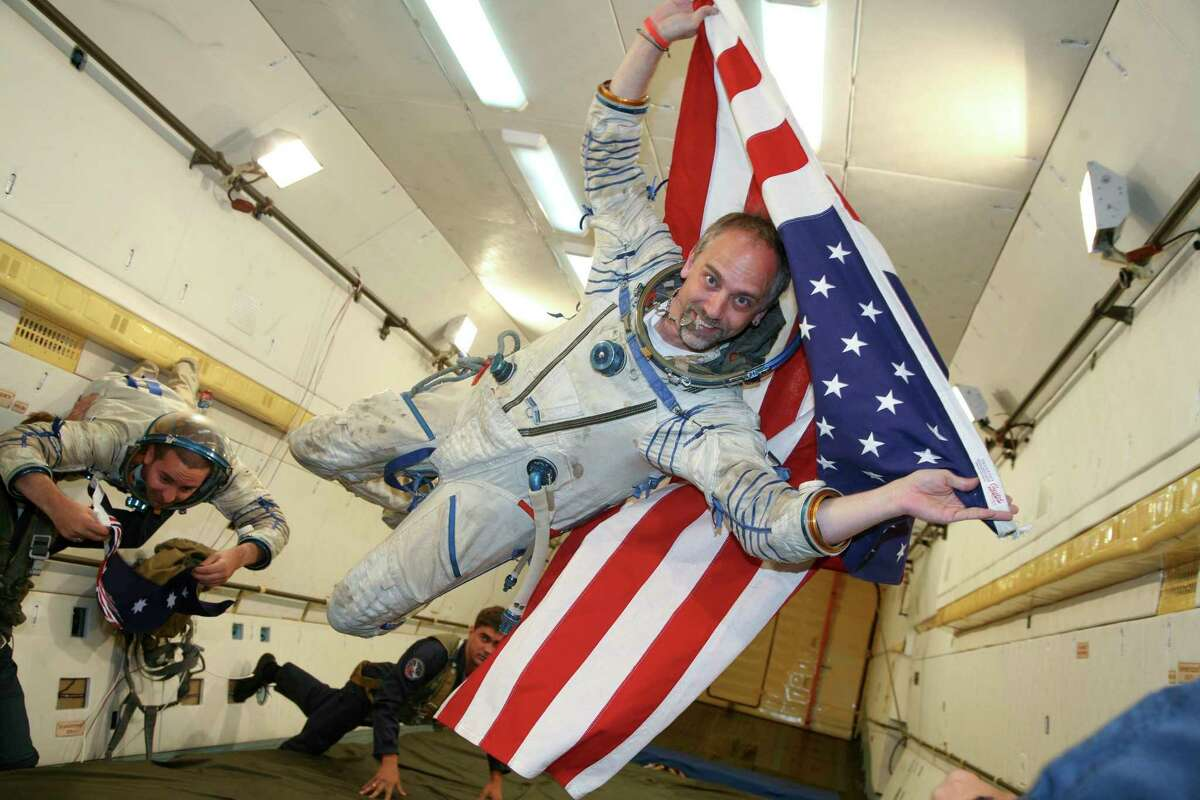 Richard Garriott de Cayeux underwent rigorous training, including zero-gravity flights in an airplane, in preparation for his 12-day stay aboard the International Space State.