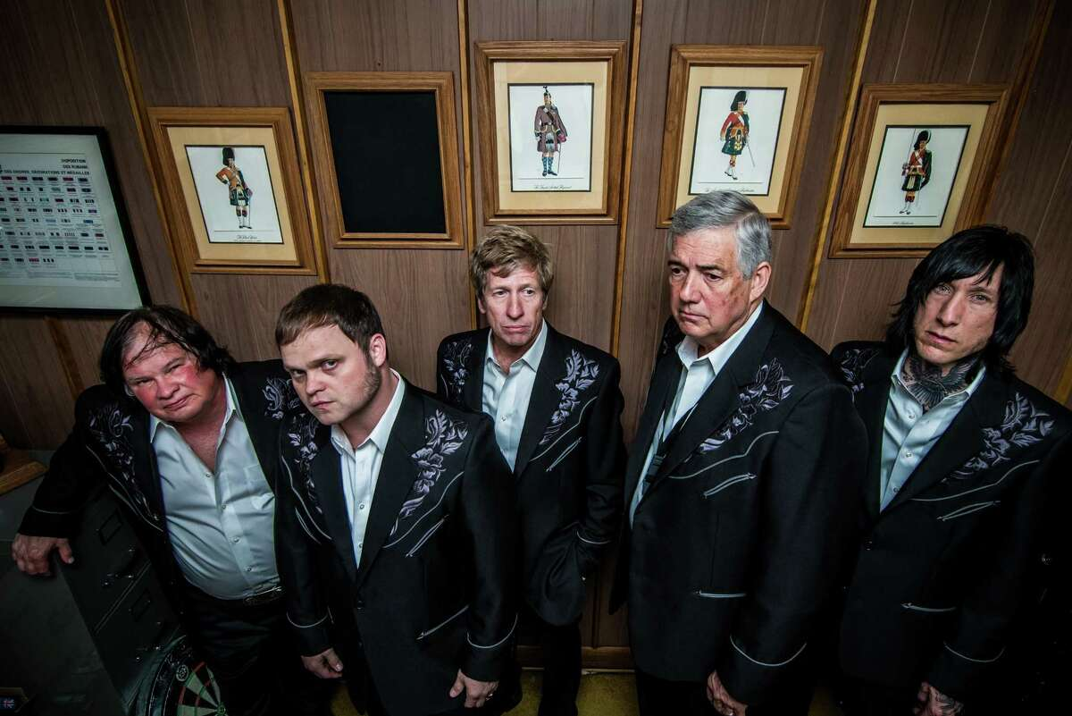 """The Sonics are performing again after half a century. A positive reception at their first reunion shows had young fans commenting on current bands who credit the Sonics with their sounds. """"We really had no idea"""" the group had influenced so many, says original member Rob Lind, second from right."""