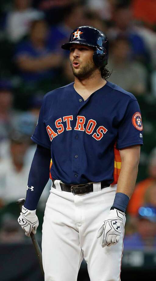 The Astros will activate center fielder Jake Marisnick from the disabled list on Monday. He missed six games because he suffered a concussion in a collision with the outfield wall on April 23. Photo: Karen Warren, Houston Chronicle / 2017 Houston Chronicle