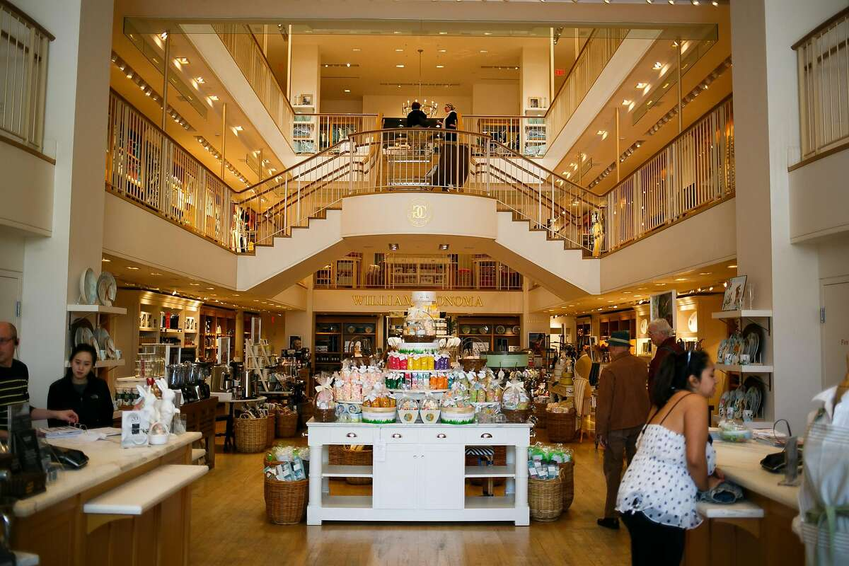 Williams-Sonoma store in downtown San Francisco, Calif. Friday, March 31, 2017.