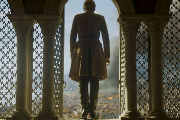 When King Tommen sees the devastation, he takes his own life.