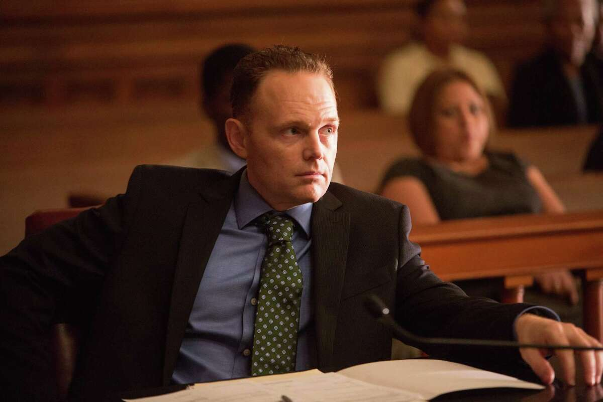 """Burr also acts. Here he is in a scene from the 2014 drama """"Black or White."""""""