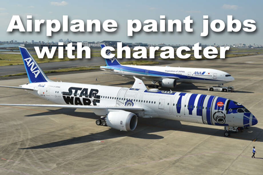 Airlines like to throw some crazy paint at their planes sometimes. We gathered an array of some of those wild paint jobs here. Click through to see them all. Photo: KAZUHIRO NOGI/AFP/Getty Images