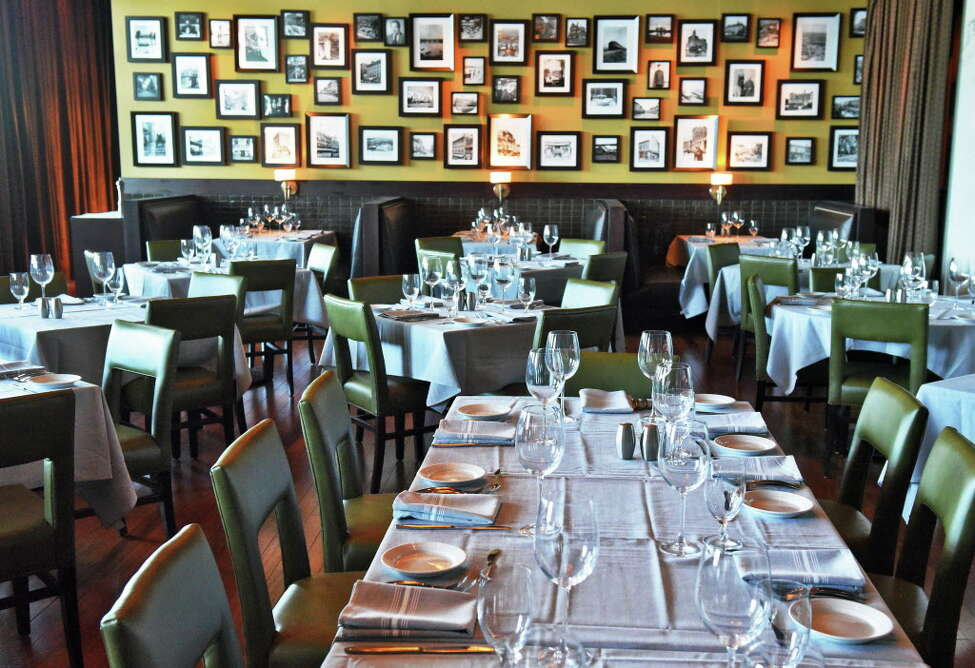 The main dining room at Duke's Chophouse in Rivers Casino Thursday March 23, 2017 in Schenectady, NY. (John Carl D'Annibale / Times Union)