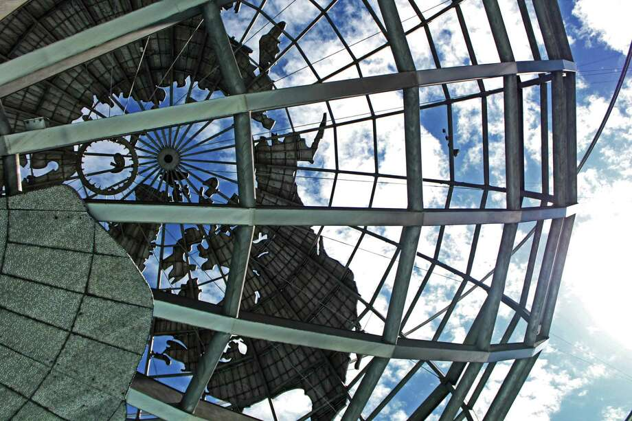 The Unisphere is the most prominent existing feature of the 1964-65 World's Fair in Queens, N.Y. Photo: John Breunig / Hearst Connecticut Media / Stamford Advocate