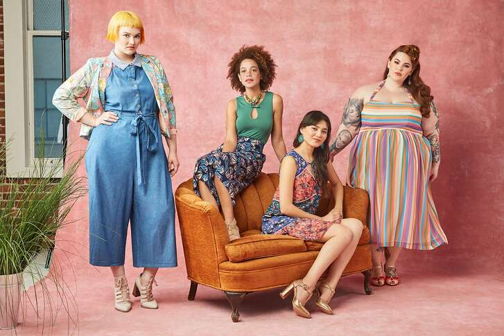 "ModCloth has gained a loyal community by being among the first fashion brands to make statements about size diversity, lifestyle inclusiveness and body acceptance -- it has a ""no-Photoshop"" policy.  Credit: ModCloth"