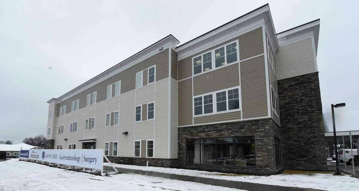 Exterior view of Albany Medical Center's Niskayuna Medical Office Building on Friday March 31, 2017 in Niskayuna, N.Y., with an EmUrgentCare unit as well as other services for the public. (Skip Dickstein/Times Union)