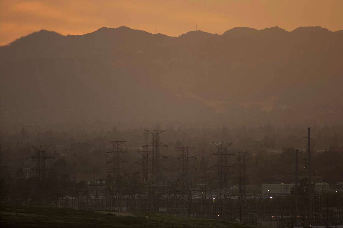 Hazy air covers the San Fernando Valley in Sun Valley, Calif. Atmospheric carbon dioxide levels reached a new record high in 2016 and have continued to climb in the first two months of 2017, scientists at the National Oceanic and Atmospheric Administration (NOAA) report. The vast majority of climate scientists contend that increasing greenhouse gas emissions drive climate change, but new Environmental Protection Agency (EPA) Administrator Scott Pruitt disagrees. (Photo by David McNew/Getty Images)