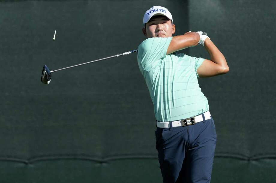 South Korean Sung Kang improved on Thursday's 65 with a 63 on Friday to put plenty of distance between him and the field heading into the final two days. A win at the Shell Houston Open would put Kang at Augusta next week