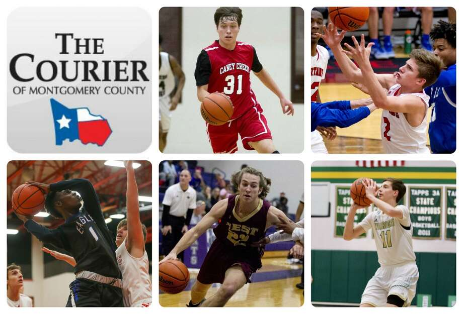 Caney Creek's Jayden Spalding, Porter's Pierce Spencer, New Caney's Dwight McGlothern, Magnolia West's John Matocha and TWCA's Nash Golaszewski are The Courier's nominees for All-Montgomery County Newcomer of the Year.