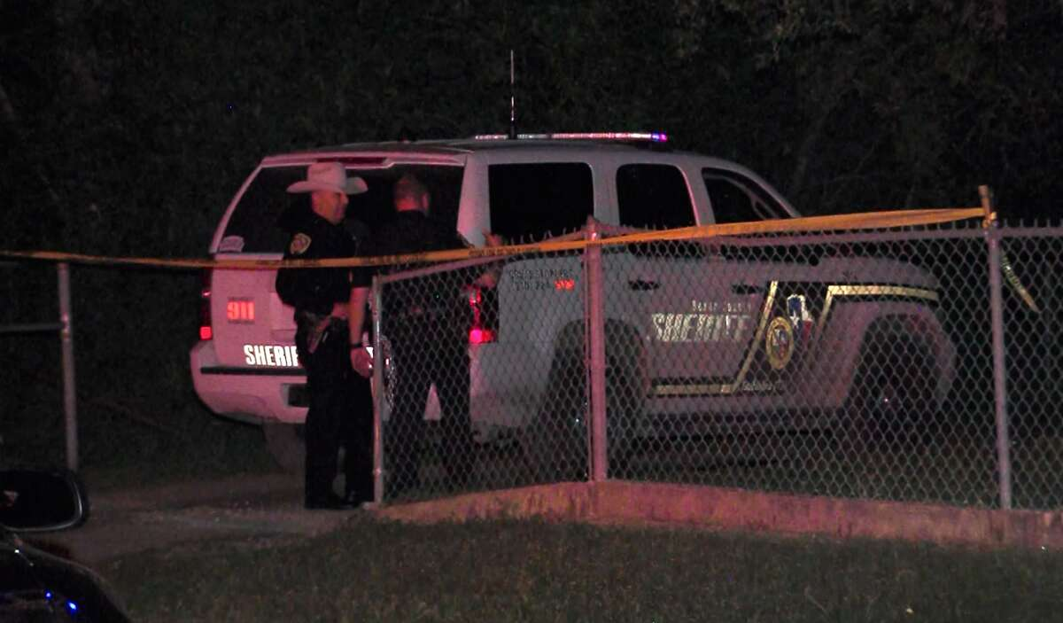 Bexar County Sheriff's Office responded to a call for a shooting in the 1000 block of Mindie Lane midnight, Saturday April 1, 2017, where they found one man shot dead and another critically injured.