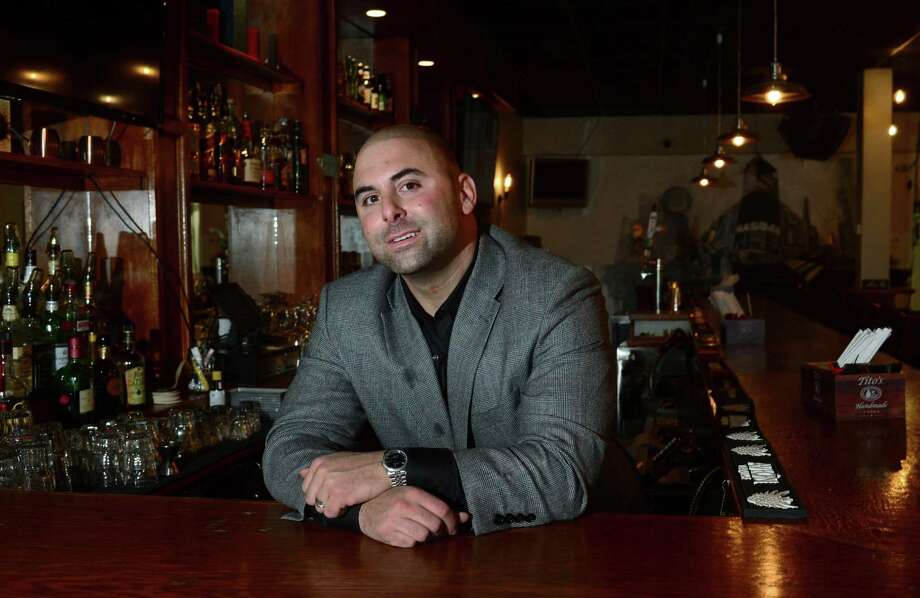 Jason Petrini, owner of MKT Bistro, at his 64 Wall Street location Friday, March 31, 2017, plans an extensive expansion which includes a rooftop dining concept as well as connecting to My Three Sons next door to offer parents more adult fare in Norwalk, Conn. Photo: Erik Trautmann / Hearst Connecticut Media / Norwalk Hour